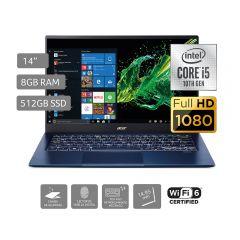 "Laptop Acer Swift 5 SF514-54T-50FH 14"" Intel Core i5 1035G1 512GB SSD 8GB RAM"