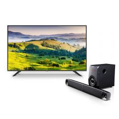 "TV Miray LED 4K UHD Smart 55"" MK55-T102 + Sounbar Miray SBM-C832BT"
